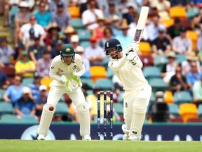 James Vince hit his maiden Test fifty as England made steady progress on day one