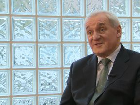 Former Irish prime minister and Good Friday agreement signatory Bertie Ahern