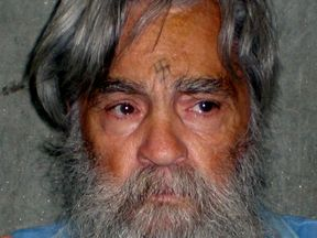 Convicted mass murderer Charles Manson in 2011