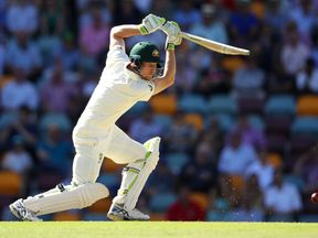 Australia's Cameron Bancroft during day 4 of the first Ashes Test