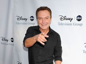 David Cassidy at the Langham Hotel in California in 2009
