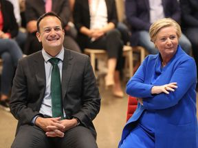 Leo Varadkar and Frances Fitzgerald