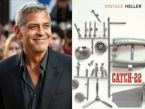 George Clooney and Catch 22. Pic: Reuters/Penguin