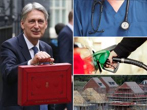 The NHS, housebuilding, fuel prices and train fares are all on the Budget agenda