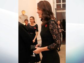 The Duchess is due to give birth in April next year