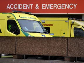 London ambulances