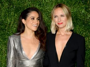 Meghan and Misha appeared together at the Vogue Fashion Fund awards