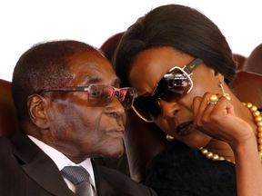 Mrs Mugabe has made no secret of her desire to succeed her husband