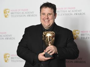 Peter Kay wins BAFTA for car share