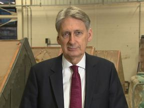 Philip Hammond denied Britain is the 'sick man of Europe'