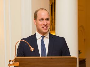 Prince William joked that marriage would keep Harry out of his fridge