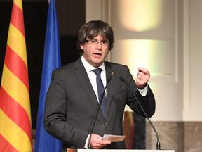 Catalan's ousted leader Carles Puigdemont