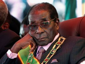 Robert Mugabe has been stripped as his role as leader of ZANU-PF