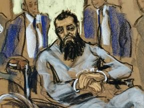Saipov appeared in court on Wednesday shackled in a wheelchair