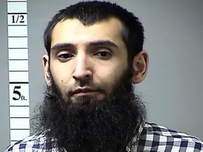Sayfullo Saipov. Pic: St. Charles County Police Department