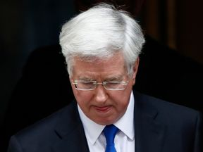 Downing Street has confirmed Sir Michael Fallon's resignation