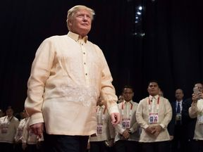 President Trump attended several summits during his Asia tour