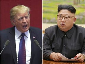 Donald Trump and Kim Jong Un