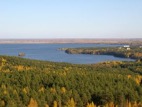 The area in the Urals near where the radiation leak is said to have originated