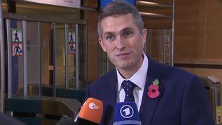 Defence Secretary Gavin Williamson