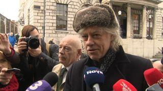 Sir Bob Geldof said 'it turned out she (Aung San Suu Kyi) is a killer'.