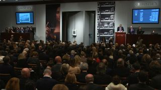 Salvator Mundi by Leonardo da Vinci is sold for a record $400m (plus fees of $30.5m) in New York