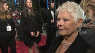 Dame Judi Dench at the premiere of Murder On The Orient Express in London