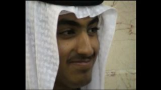Hamza bin Laden in a never-seen-before home video of his wedding. Pic: CIA