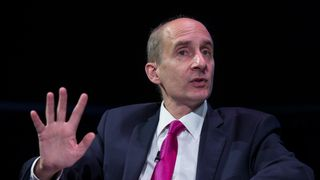 Lord Adonis delivers a speech at the 'Policy Network Conference' held in the Science Museum on July 3, 2014 in London, England