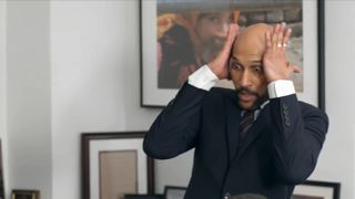 Keegan-Michael Key's Luther reacts to a meeting with the International Refugee committee.