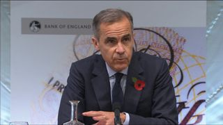 Mark Carney is the governor of the Bank of England