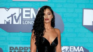 Instagram star Nisrine Sbia attends the MTV EMAs