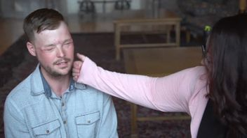 Lilly Ross and Andy Sandness - the man given her dead husband's face