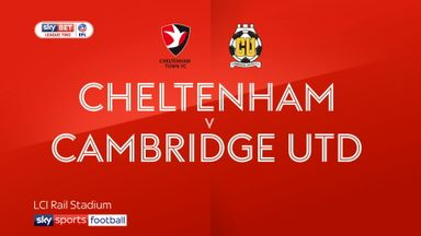 Cheltenham 0-0 Cambridge