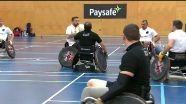 Greenwood lauds wheelchair rugby