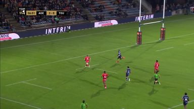 Ashton hat-trick for Toulon