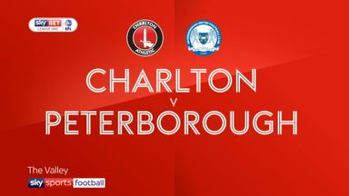 Charlton 2-2 Peterborough