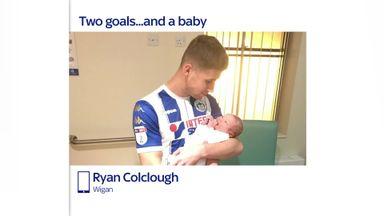 'Surreal hat-trick' for Colclough