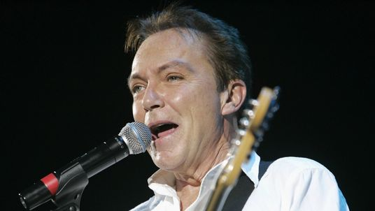 David Cassidy performing at the Hammersmith Apollo in 2008