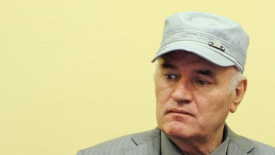 Ratko Mladic oversaw genocide in the worst conflict in Europe since the War