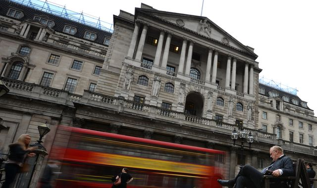 Bank of England cuts growth forecast as trade war and Brexit weigh