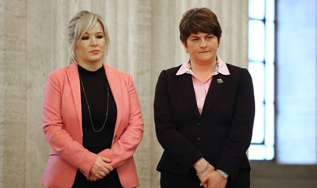 Speculation of powersharing deal as May heads to Belfast
