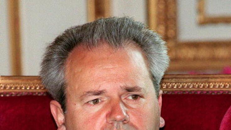 Slobodan Milosevic was indicted for war crimes