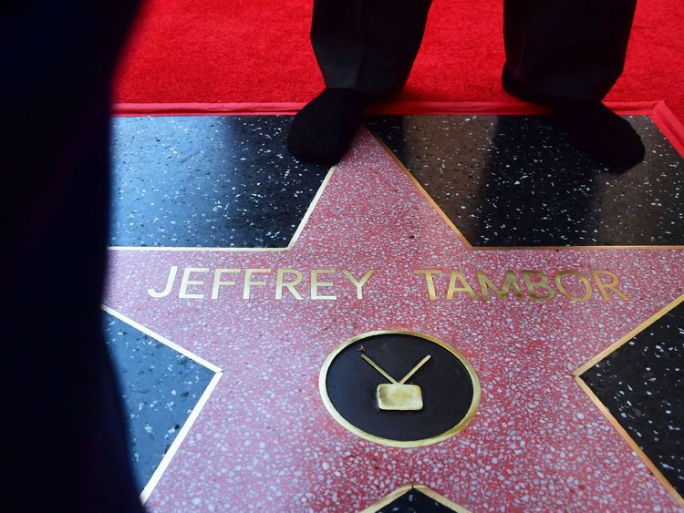 Actor Jeffrey Tambor's Hollywood Walk of Fame star
