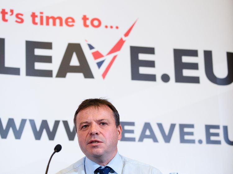 Leave.EU fined as campaign head referred to police