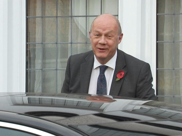 Damian Green said the accusations are 'completely false'