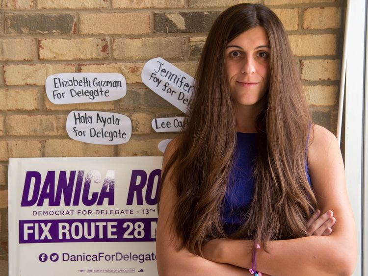 Danica Roem is the first openly transgender person elected to a state legislature