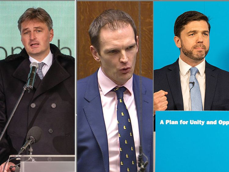 (L-R) Daniel Kawczynski, Dan Poulter and Stephen Crabb have been referred to the new Tory disciplinary committee