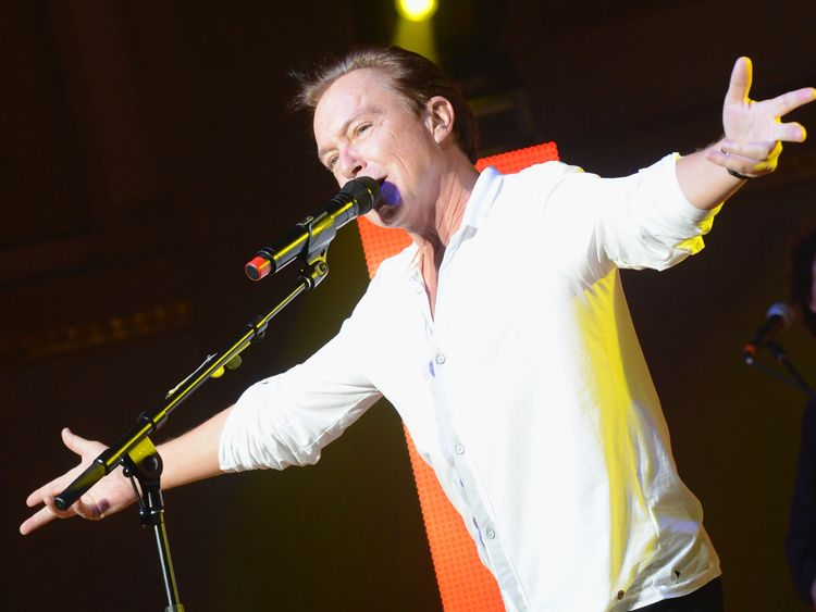 David Cassidy performing in Nashville in 2012