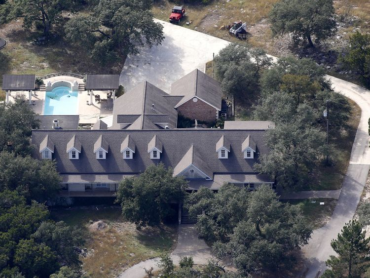 The house of Devin Patrick Kelley, Texas gunman